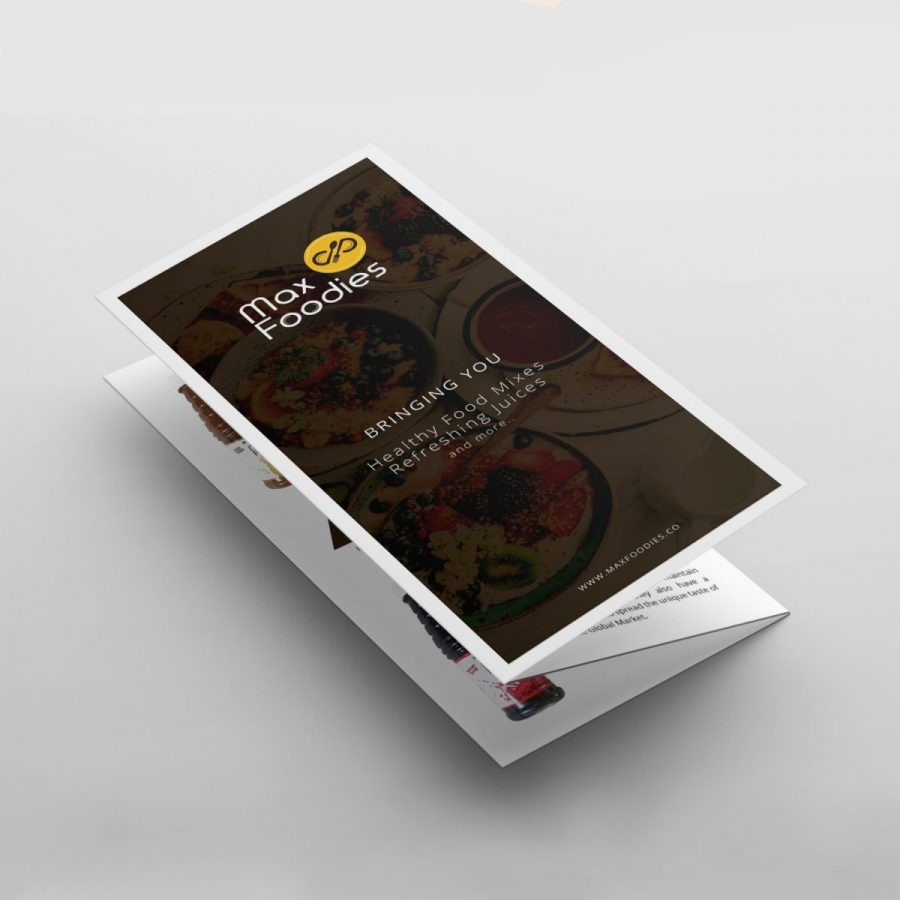 Brochure design for