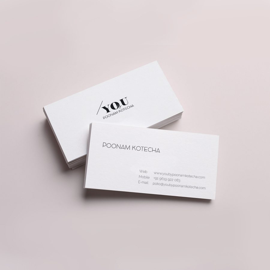 Business Cards for Wedding Photographer You by Poonam Kotecha