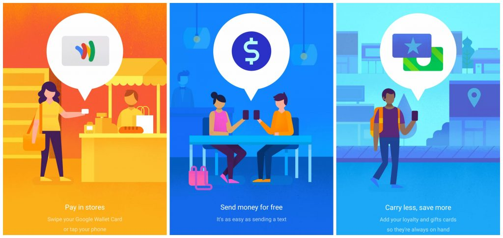 Brand illustration - Google Wallet