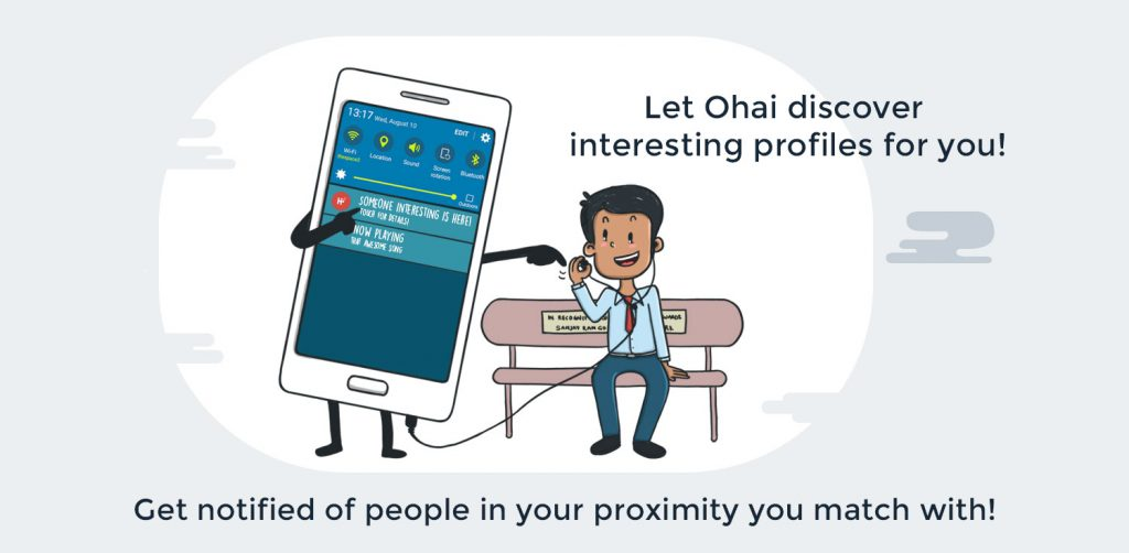 Brand illustration - Ohai value proposition