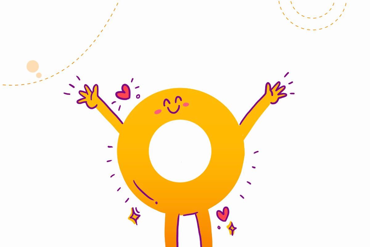 Happy Jo, mascot of Crejo.Fun, an Indian ed-tech startup